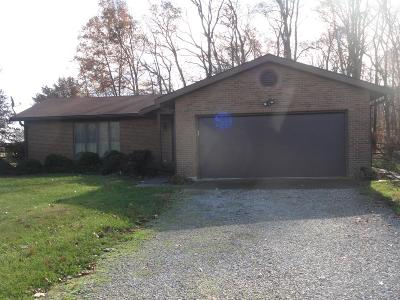Brown County Single Family Home For Sale: 3542 Bardwell West Road