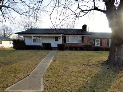 Seaman OH Single Family Home For Sale: $93,000