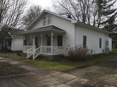 Seaman OH Single Family Home For Sale: $97,500
