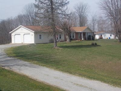 Sprigg Twp OH Single Family Home For Sale: $174,900