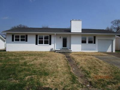 Aberdeen OH Single Family Home For Sale: $98,500