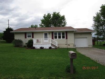 Tiffin Twp OH Single Family Home For Sale: $119,500