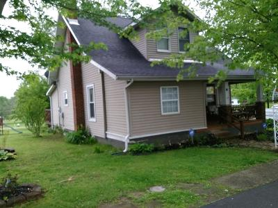 Peebles OH Single Family Home For Sale: $72,000