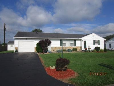 Manchester OH Single Family Home For Sale: $84,500