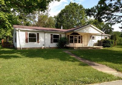 Meigs Twp OH Single Family Home For Sale: $36,000