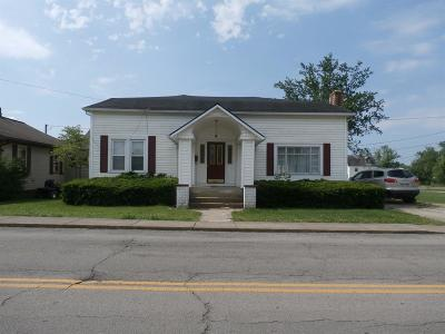 Peebles OH Single Family Home For Sale: $48,900