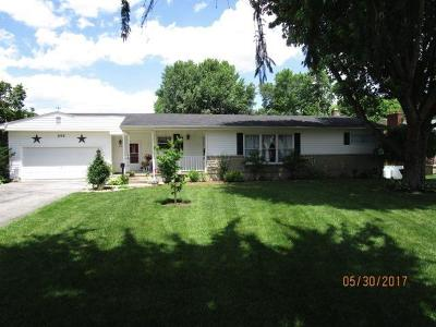 Peebles OH Single Family Home For Sale: $125,000