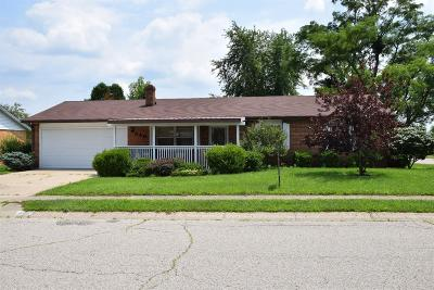 Preble County Single Family Home For Sale: 840 Ashtree Drive
