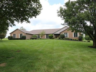 Butler County Single Family Home For Sale: 1900 Hamilton New London Road