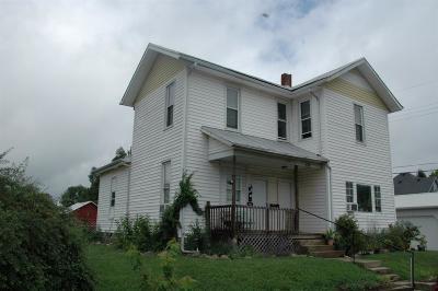 Preble County Multi Family Home For Sale: 118 East Monfort Street