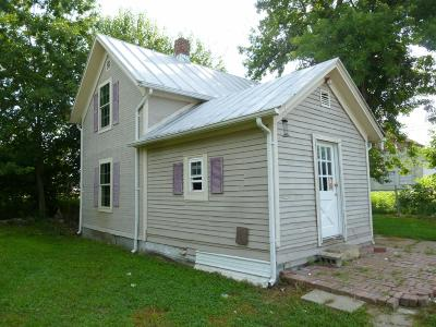 Peebles OH Single Family Home For Sale: $28,500