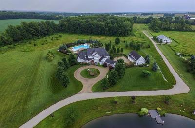 Warren County Single Family Home For Sale: 4950 Utica Road