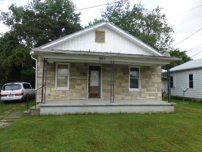 Manchester OH Single Family Home For Sale: $40,000