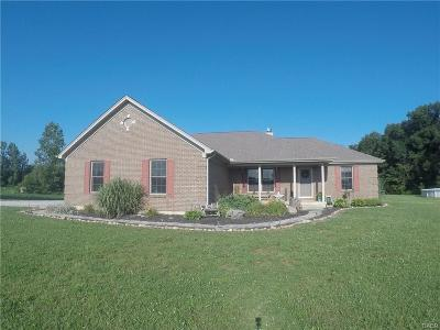 Preble County Single Family Home For Sale: 10621 Morrison Mikesell Road