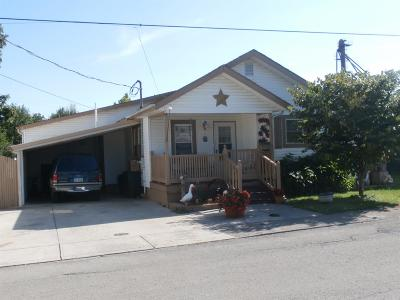 Peebles OH Single Family Home For Sale: $59,000