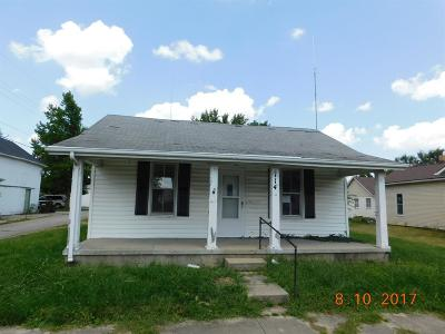 Preble County Single Family Home For Sale: 114 East Mechanic Street