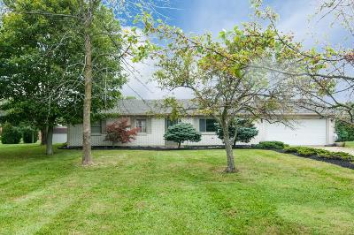 Preble County Single Family Home For Sale: 4670 Maple Grove Road