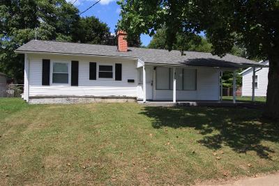 Harrison OH Single Family Home For Sale: $109,000