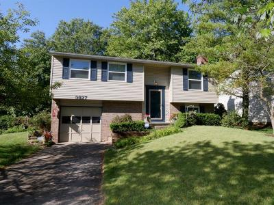 Single Family Home For Sale: 3827 Wood Trail Drive