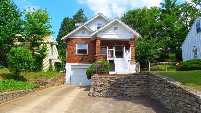 Hamilton County Single Family Home For Sale: 2392 East Galbraith Road
