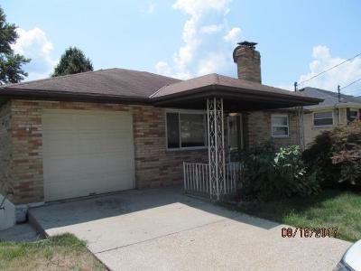 Hamilton County Single Family Home For Sale: 3381 Keywest Drive