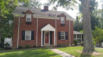 Hamilton County Single Family Home For Sale: 6315 Cambridge Avenue