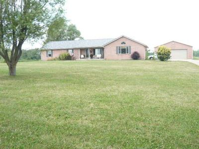 Preble County Single Family Home For Sale: 3333 Northern Road