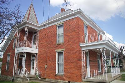 Mt Orab Single Family Home For Sale: 101 East Main Street