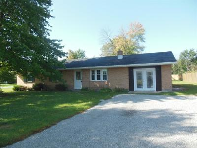 Brown County Single Family Home For Sale: 2850 St Rt 125