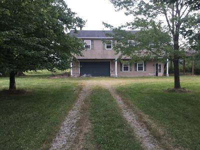 Brown County Single Family Home For Sale: 2092 Oakland Locust Ridge Road