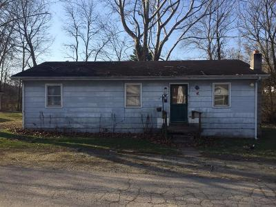 Peebles OH Single Family Home For Sale: $28,000