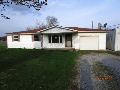 Highland County Single Family Home For Sale: 3351 St Rt 134