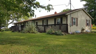 Adams County, Brown County, Clinton County, Highland County Single Family Home For Sale: 1047 Frazier Road