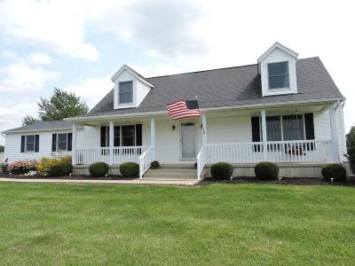 Adams County, Brown County, Clinton County, Highland County Single Family Home For Sale: 9345 St Rt 730