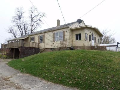 West Union OH Single Family Home For Sale: $44,900