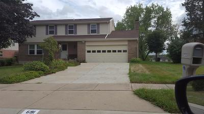 Single Family Home For Sale: 691 Harcourt Drive