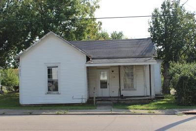 Adams County, Brown County, Clinton County, Highland County Single Family Home For Sale: 170 North Wall Street