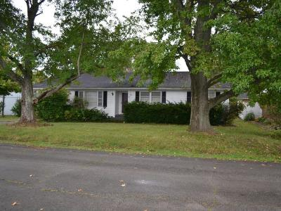 Adams County, Brown County, Clinton County, Highland County Single Family Home For Sale: 1760 Ridgeway Road