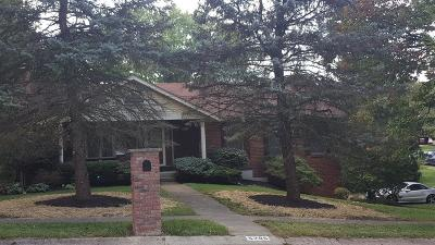 Single Family Home For Sale: 5795 Red Oak Drive