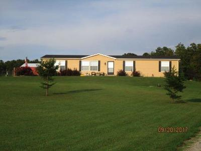 Brushcreek Twp OH Single Family Home For Sale: $105,000