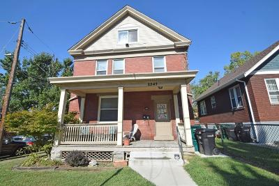 Single Family Home For Sale: 2347 Flora Street