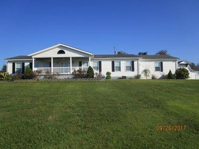 Peebles OH Single Family Home For Sale: $139,500