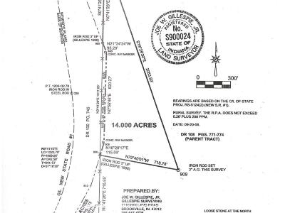 Brookville Residential Lots & Land For Sale: St Rt 1