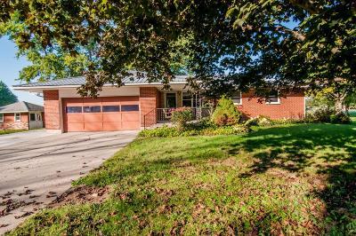 Preble County Single Family Home For Sale: 967 Dafler Road