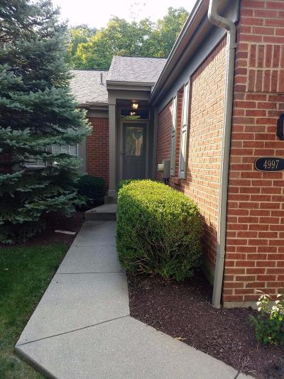 Sharonville Condo/Townhouse For Sale: 4997 Lord Alfred Court