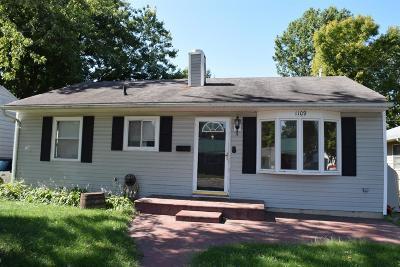 Preble County Single Family Home For Sale: 1109 Aukerman Street