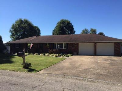 Aberdeen OH Single Family Home For Sale: $157,000