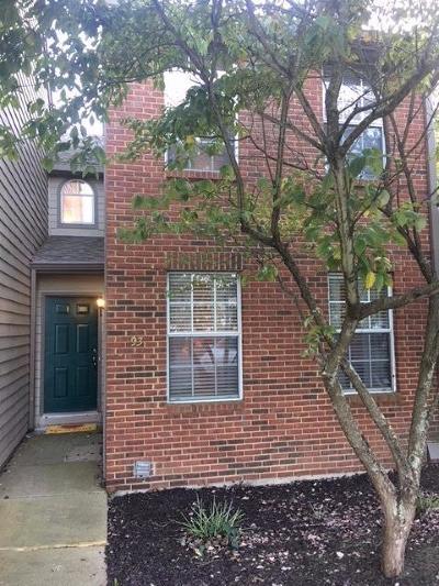 Montgomery Condo/Townhouse For Sale: 10555 Montgomery Road #93