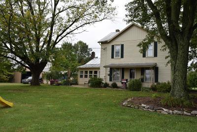 Preble County Single Family Home For Sale: 2407 Bantas Creek Road