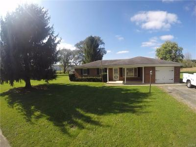Preble County Single Family Home For Sale: 105 Sherwood Drive
